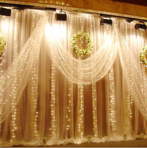 Outfits SUPli 300 LED Window Curtain String Light for Wedding Party Home Garden Bedroom Outdoor Indoor Wall Decorations