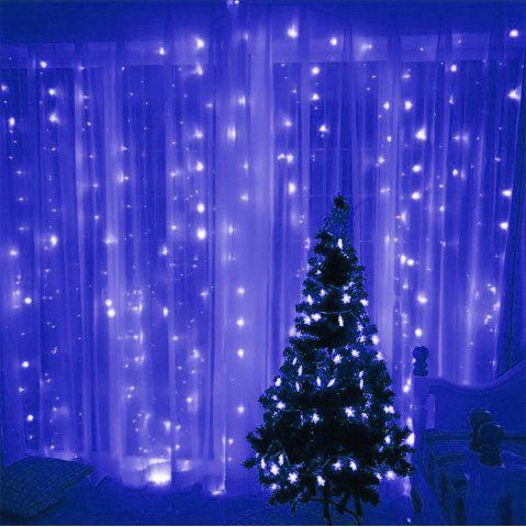 Shops SUPli 300 LED Window Curtain String Light for Wedding Party Home Garden Bedroom Outdoor Indoor Wall Decorations