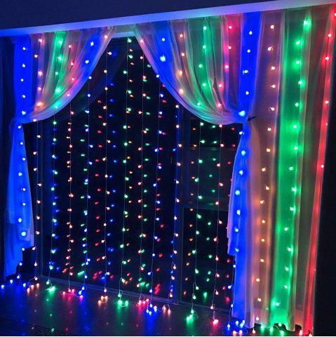 Chic SUPli 300 LED Window Curtain String Light for Wedding Party Home Garden Bedroom Outdoor Indoor Wall Decorations