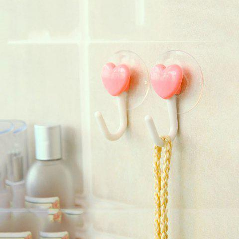 Cheap DIHE Bathroom Hook Strong Chuck Loveliness No Screw 2PCS