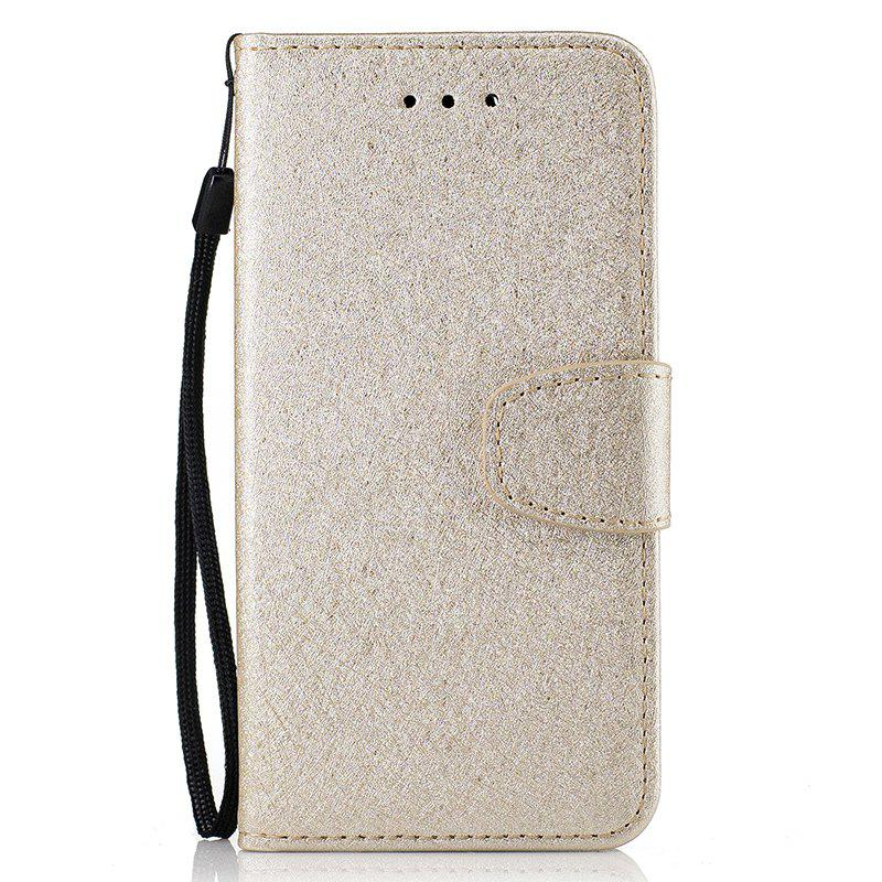 Store Nacy Natural Silk Double Color Texture  PU Leather Case with Wallet Card Slots for iPhone 7 Plus / 8 Plus