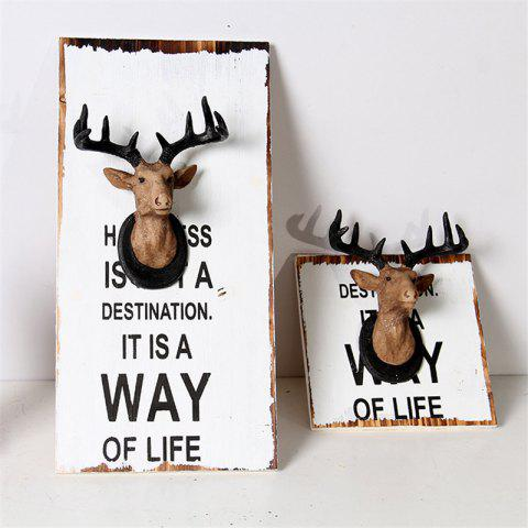 Best Wall Hanging Art Decoration Cartoon Deer Head Design