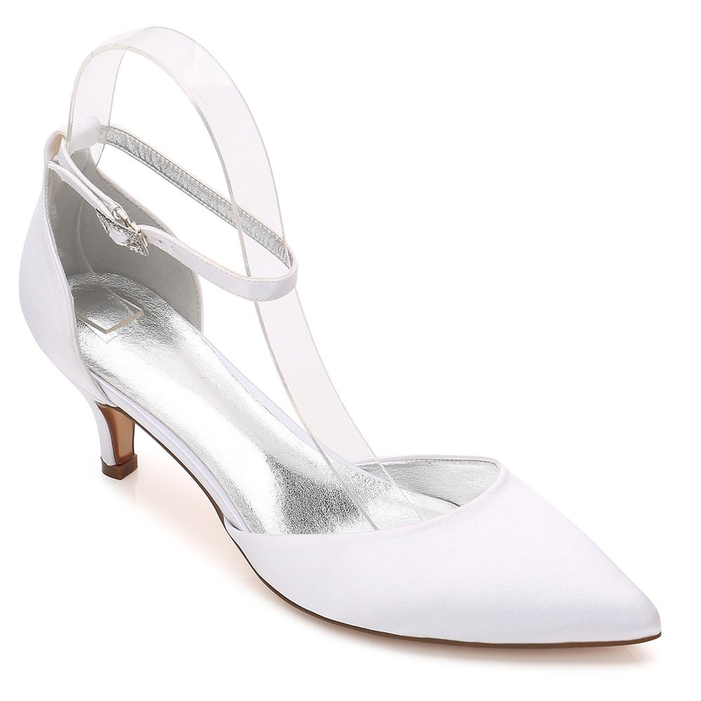 f5207a07c8 Outfit Women's Wedding Shoes Comfort Basic Pump Ankle Strap Spring Summer  Rhinestone