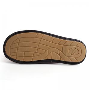 Autumn and Winter Male and Female Skin Cotton Tow Lovers Style Slippers -
