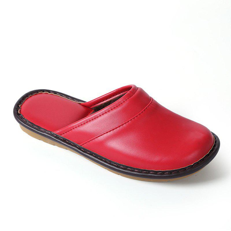 Outfit Autumn and Winter Male and Female Skin Cotton Tow Lovers Style Slippers