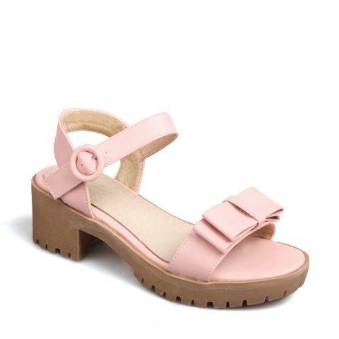 Outfit Women's Sandals Summer Slingback Gladiator Bowknot Buckle