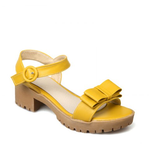 Discount Women's Sandals Summer Slingback Gladiator Bowknot Buckle