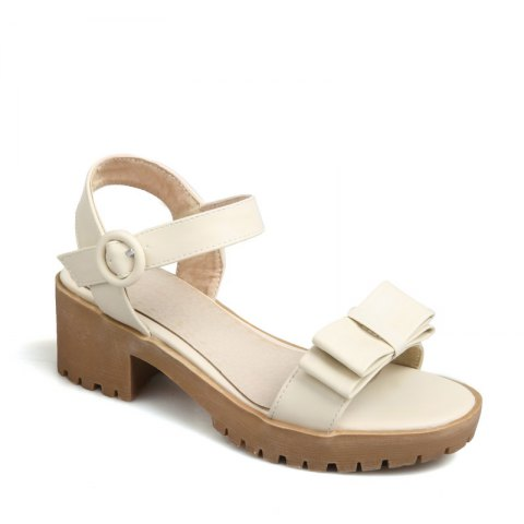 Latest Women's Sandals Summer Slingback Gladiator Bowknot Buckle