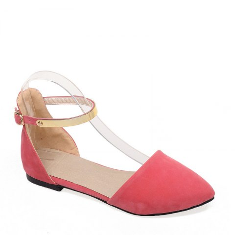 Outfit Women's Sandals Summer Comfort Career Casual Flat Heel Buckle Hollow-out