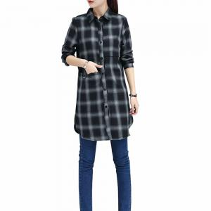 Baggy Blouse with Long Sleeve Blouse -