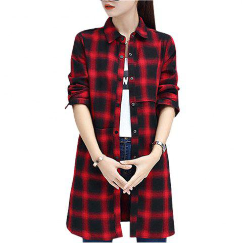 Fashion Baggy Blouse with Long Sleeve Blouse