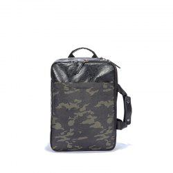Le sac d'ordinateur portable de grand espace manipulent le sac à dos Office Man Fashion multifonctionnel -