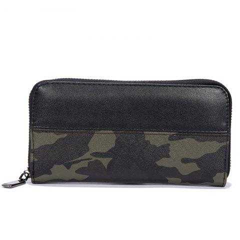 Online Men's Camouflage Color Fashion Cute Wallet Sporting Outdoor Purse