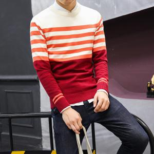 Men's Slim Comfortably Knitted Long Sleeve Sweater -