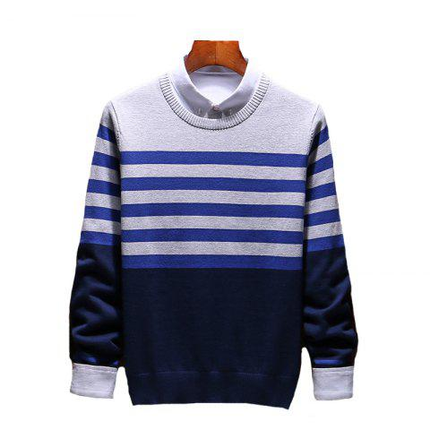 Unique Men's Slim Comfortably Knitted Long Sleeve Sweater