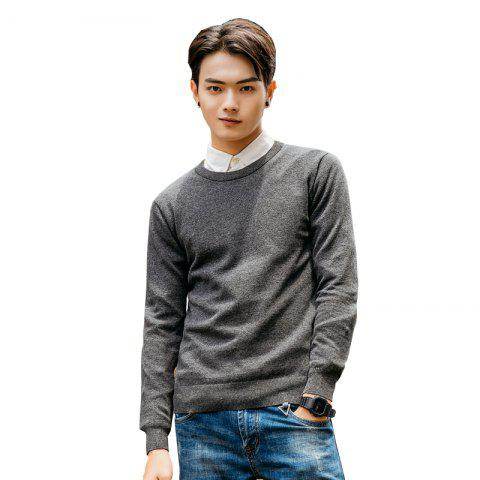 Shop Men's Fashion Casual Long Sleeves Pullover Knitted Sweater