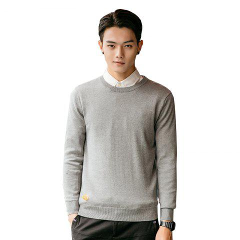 Trendy Men's Fashion Casual Long Sleeves Pullover Knitted Sweater