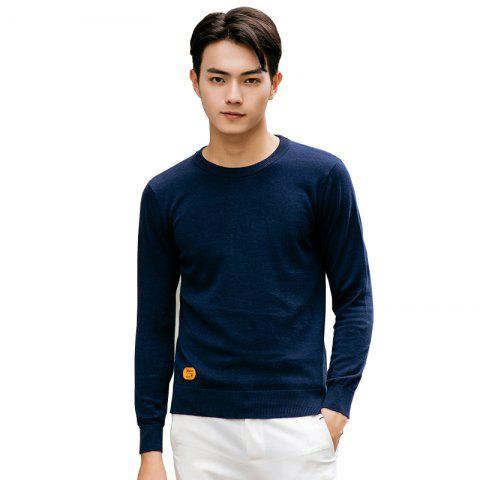 Sale Men's Fashion Casual Long Sleeves Pullover Knitted Sweater