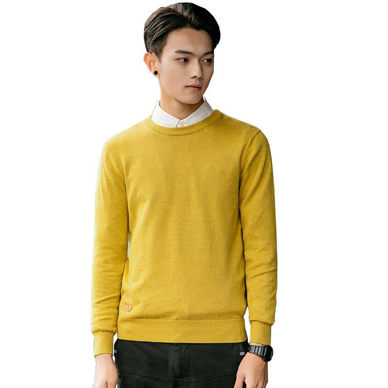 Store Men's Fashion Casual Long Sleeves Pullover Knitted Sweater