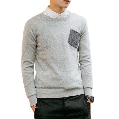 New Men's Slim Fit Basic Knitted Pullover Sweaters