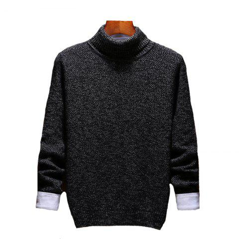Online Men's Casual Slim Fit  Pullover Sweaters