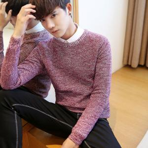 Men's Fashion Casual Slim Fit Pullover Sweaters -