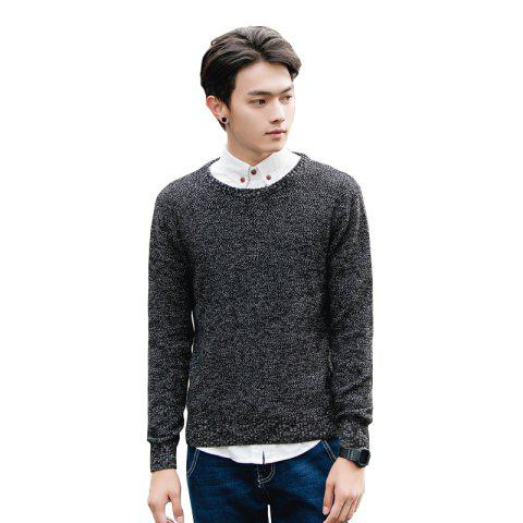 Sale Men's Fashion Casual Slim Fit Pullover Sweaters