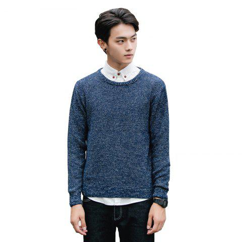 Online Men's Fashion Casual Slim Fit Pullover Sweaters