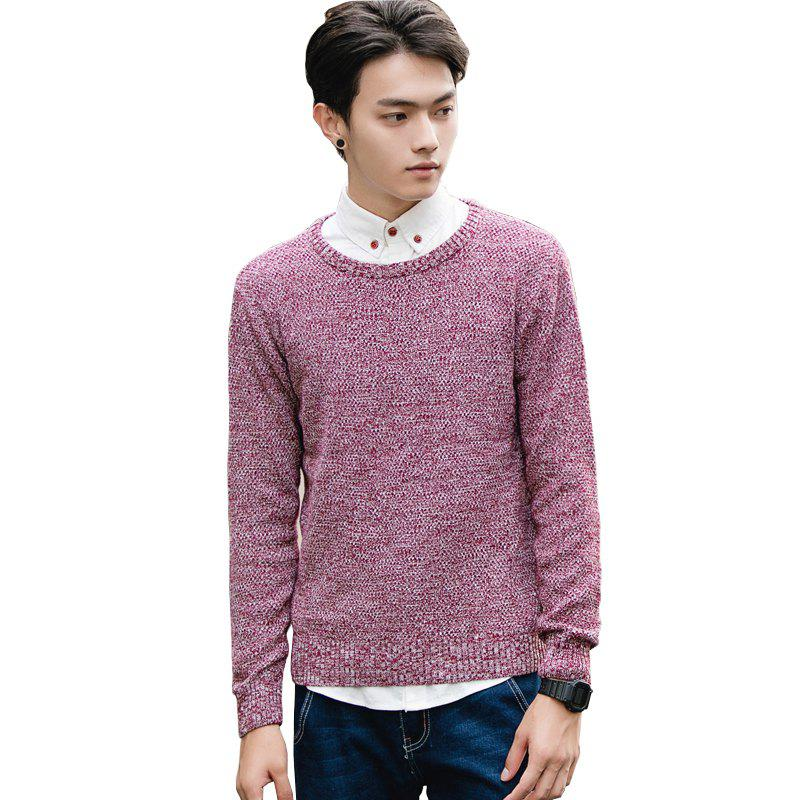 Cheap Men's Fashion Casual Slim Fit Pullover Sweaters