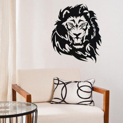 Unique DSU Lion Head Wall Decal Vinyl Wall Sticker for Boys Bedroom