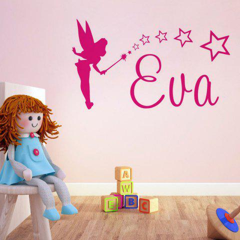 Cheap DSU Cute Small Fairy Wall Sticker Decal Art for Baby Nursery