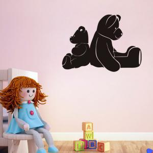 DSU Removable Bear Decal Wall Sticker -