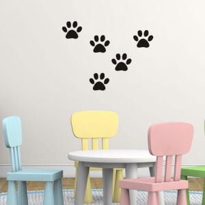 DSU Funny Dog Cat Wall Sticker for Kids Room Home Decoration -