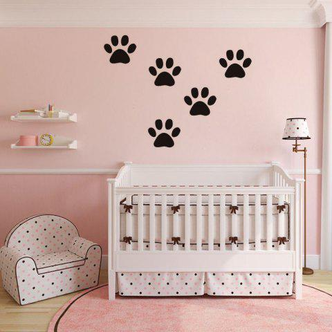 Trendy DSU Funny Dog Cat Wall Sticker for Kids Room Home Decoration