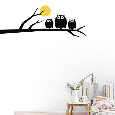 Buy DSU Owls Family High Quality Wall Sticker