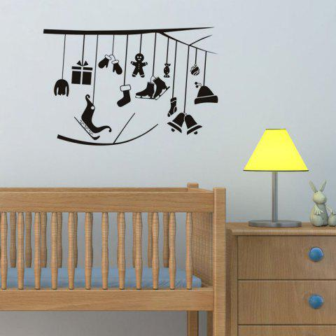 Fancy DSU Merry Christmas Wall Sticker for Home Living Room Background