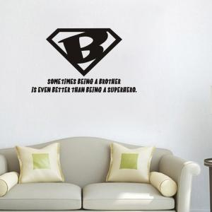 DSU Quote Vinyl Decal Wall Art Sticker for Kids Room -