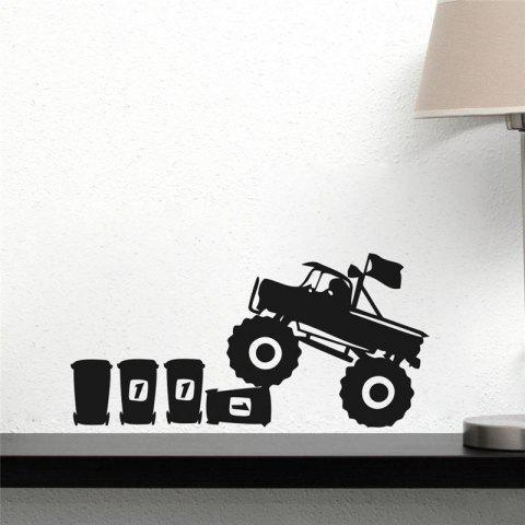 Best DSU Cartoon Animal Mouse Driving Truck Vinyl Art Wall Sticker