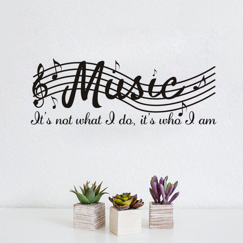 New DSU Music Note Decal Removable Wall Sticker