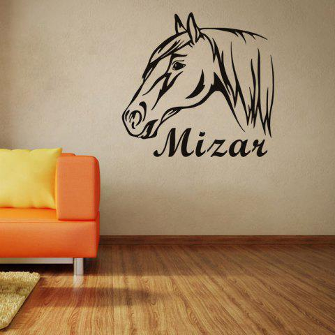 Outfit DSU Horse Riding Wall Decal Quote Vinyl Sticker
