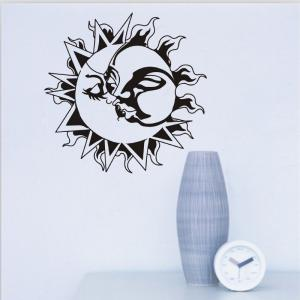 DSU Yoga Lotus Meditation Home Decor Wall Sticker -