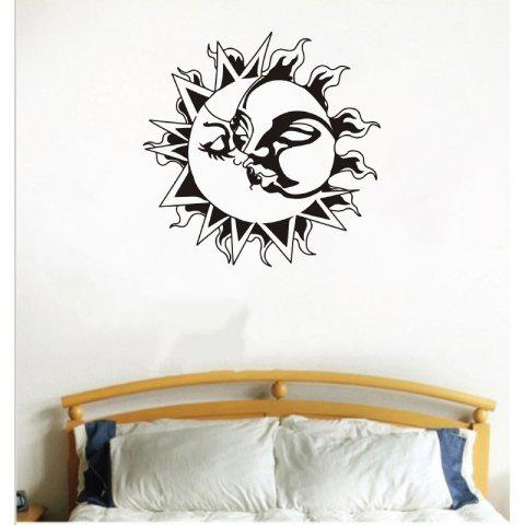 Buy DSU Yoga Lotus Meditation Home Decor Wall Sticker
