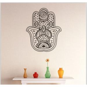 DSU Flower Pattern Living Room Wall Decal Sticker -