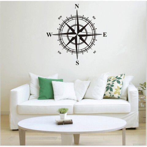 DSU Compass Wall Sticker for Home Decoration