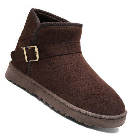Outfit Men New Trend for Fashion Warm Winter Home Suede Casual Shoes