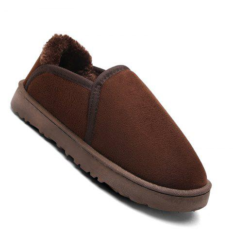 Fancy Men Casual Winter Warm Suede Trend for Fashion Shoes
