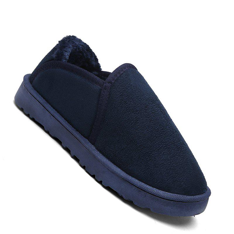 Chic Men Casual Winter Warm Suede Trend for Fashion Shoes