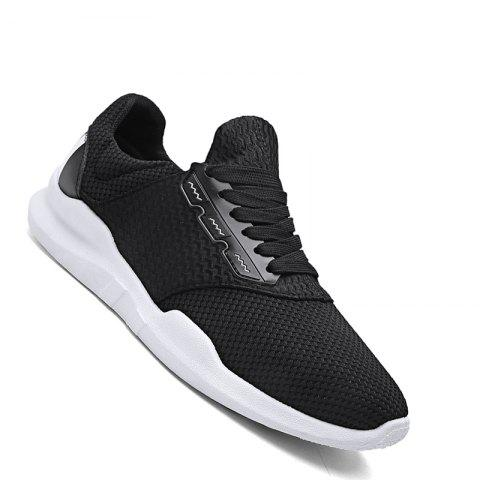 Store Men Casual Rubber Breathable Mesh Trend for Fashion Lace Up Ankle Boots