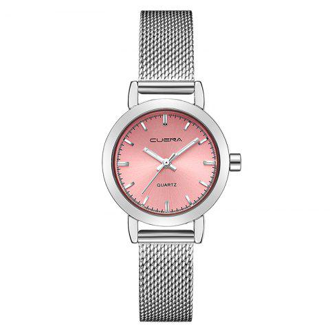 Shop CUENA 6627G Luxury Women Quartz Watch Watche Waterproof Stainless Steel Watchband