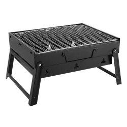 Portable Charcoal Barbecue Stove for Outdoor Family Picnic Stainless Steel Grill -